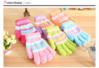 Wholesale Children in winter to keep warm gloves Thickening of coral fleece gloves Children hands warm gloves About cm long years old children