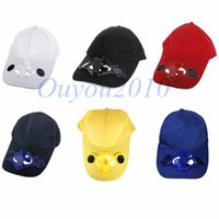 Wholesale New Summer Outdoor Sport Polyester Cotton Hat Cap with Solar Sun Power Cool Fan For Golf Baseball Camping