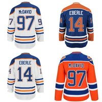 Lady Edmonton Oilers Jersey 27 Milan Lucic 29 Leon Draisaitl 44 Zack  Kassian 91 Drake Caggiula 97 Connor McDavid Hockey Jerseys S-2XL f26b3be62