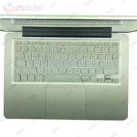 Wholesale EU layout Portugal Portuguese Silicone Laptop Keyboard Protectors Covers Protective film For Apple Macbook Mac quot quot quot inch iMac G6 EU