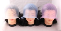 Wholesale Hot Highlights Magicap Frosting Tipping Cap Hair Colors Silicone Cap Hair Treatment Cream Cap By DHL
