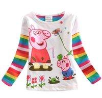 Cheap Girl girls shirts Best Summer Standard children shirts