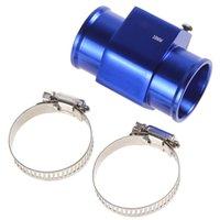 Wholesale 2pcs Water Temperature Temp Sensor Guage Adapter mm Aluminium with Clamps CEC_513
