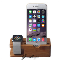 bamboo desktop organizer - of Bamboo Desktop Display Stand Holder Charger Cord Docking Station For Apple Watch iPhone S in Organizer