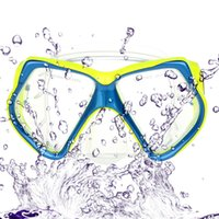 Wholesale Tempered Glass Scuba Diving Mask Swimming Diving Goggles Snorkeling Swimming Glass Equipment Adult