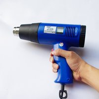 Wholesale new arrival high quality w heat gun with Temperature Digital Display for car wrapping MX