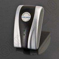 Wholesale 600PCS HHA677 Hot Sell UK EU AU US Plug kw Power Electricity Saving Box V V Energy Saver