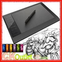 Wholesale 100 Original New GAOMON PRO Digital Graphic Tablet Drawing Tablets Board Pen USB Connector with Free Gift