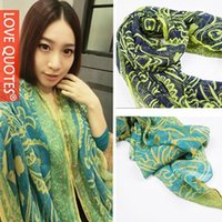 Wholesale New cm Silk Scarves Women Casual Gorgeous Print Scarf Shawl Wrap Color Support For Mixed Batch