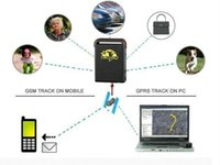 Cheap for Brazil GPS Tracker TK102B Mini Global Real Time 4 Bands GSM GPS GPRS google link real address monitor platform Free Shipping