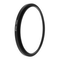 Wholesale mm Metal Step Up Adapter Ring MM Camera Lens to MM Accessories