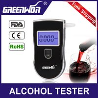 Wholesale 2015 hot sell digital alcohol tester Patent AT update version with mouthpieces hide in pack