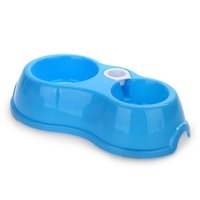 Wholesale IMC Pet Water Dispenser Food Dish Bowl Automatic Feeder Blue order lt no track
