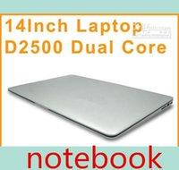 "Cheap DHL CHEAP LOW HOT 14"" 14 inch Dual Core laptop tablet pc 2G DDR3 320G Win7 win 7 Air Book D2500 Notebook Computer PC ultrabook cheap laptops"