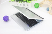 Wholesale New ultrathin Magnetic card Slot Wireless Bluetooth Keyboard For ipad air ipad turn ipad to be macbookZ00189