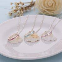 best boys love - 6Set Best Friends Letter Charms Ring Necklace Simple Elegant Romantic Pendant Necklace Girl Boy Good Gift