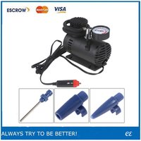 Wholesale Portable V W PSI Electric Car Tyre Air Compressor with Pneumatic Nozzle