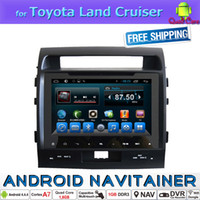 auto stereo systems - Full Touch Auto Radio Multimedia Android System for Toyota Land Cruiser with Quad Core Bluetooth GPS Stereo Car Dvd