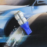Wholesale car spare parts LED Lamp Bulb T10 SMD widely angle Lamp blue color for W5W W2 X9 d for Marker Signal Top Reading Width Light