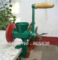 Wholesale 2pcs Chili Soybean Grain Rice Mill Wheat Corn Flour Hand Crank Oats Flour Mill grinding miller Pulverizer