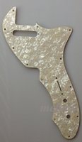 Wholesale For RI US Tele pickguard replacement Ply Ivory White Pearl