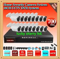 access phone box - video security system P ch CCTV DVR Recorder with P2P Cloud easy remote access by device number Mobile Phone Monitoring