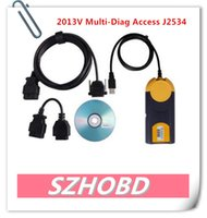 access repair software - 2013V Multi Diag Access J2534 Pass Thru OBD2 Device Support Multi Language Update Brands Car Models New System DHL free
