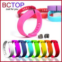 Bracelets à puce Avis-2016 Vente Vente Directe Bonne Bracelet Fitness Mus Bracelet Smart Vente en gros de haute qualité Fitbit Flex Wrist Replacement Smart Band By DHL