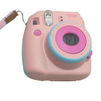 Wholesale Refurbished Fujifilm Instant Camera instax mini8 mini passion three colors Pink Blue Hello Kitty