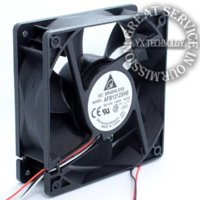 amd server - New and Original AFB1212SHE P N W190 server cooling fan for Delta mm mm mm