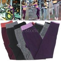 Wholesale Women s Fitness Push up Elastic Sports Yoga Pants Workout Running Gym Leggings Y107