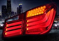 Wholesale high quality led tail lights tuning led light bar tail lamps stop lights driving lights turn lights for chevrolet cruze