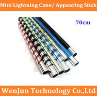 Wholesale NEW Arrived Mini Lightning Cane cm appearing stick the best gift for children order lt no track