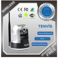 IP Camera android mobile browser - MJPEG Series PT Indoor Network Camera Wi Fi Wireless IP Camera For Internet Browser Smart Mobile Android By FedEx