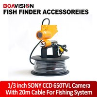 Wholesale Only m ft Cable White Leds CCD TVL Underwater Fishing Camera With One Stick For Underwater Video Camera System