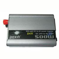 Wholesale 500 Watt Inverter Converter Power Transformer Power Switch DOXIE Voltage DC V to AC V USB Port