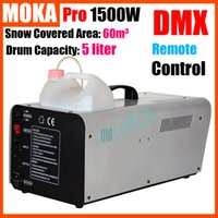 artificial snow machines - 2pcs Moka MK S02 w DMX512 Snow Machine Flake Stage Artificial Snow Machine Flake Effect Christmas DJ