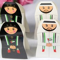 Wholesale New arrival UAE Wedding Box Party Arab Candy Box Favor Gift Boxes Arabic Packaging Chocolate Box