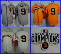 Baseball belt dryer - 2016 New WS San Francisco Giants Jersey Brandon Belt Baseball Jersey Cool Base Gray Cream Stitched S XL Cheap