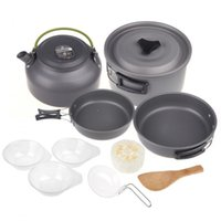 aluminum oxide ceramics - IMONIC Aluminum Oxide Outdoor Camping Pot Set Hiking Backpacking Cookout Picnic Cookware Teapot Coffee Kettle Set All in One