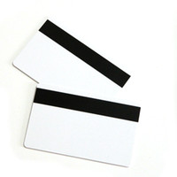 Wholesale China High quality OE Lo_Co magnetic stripe card magstripe white plastic card