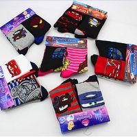 100 % wool socks - 100 cotton AAA quality McQueen Cars princess spider man kids girls boy warm wool knit handmade socks leg warmers gift topB1497 pairs