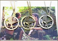 imitation jewelry - The Hunger Games Necklaces Inspired Mockingjay And Arrow Pendant Necklace Authentic Prop imitation Jewelry Katniss Movie The Hunger Games