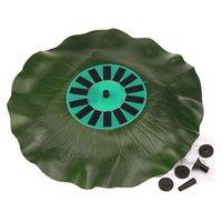 bath materials - Solar power Lotus Leaf Fountain Floating Brushless Decoration Pump Kit for Bird Bath Garden Pond Durable Material