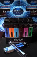 Cheap Electronic Disposable HOOKAH 800Puffs various fruit flavors E Cigarette e shisha pens Newest e hookahs ehookah pen free shipping