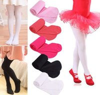 color pantyhose - 11 Solid Colors Soft Kawaii Lovely Velvet Children Girl Kids Pantyhose Tights Opaque Dance Tights Stocking Pants for Year free shiping D