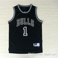 basketball jersey uniform - Black Derrick Rose Jersey Casual Men s Sport Wear Basketball Uniform Shirts Embroidery Top Quality