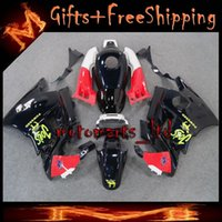 Cheap black For HONDA CBR600 F2 91 92 93 94 91-94 Years ABS Plastic Bodywork Set CBR600F2 CBR 600 F2 600F2 91 94 1991 1992 1993 1994 Fairing Body