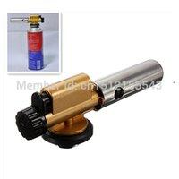 Wholesale New Welding Butane Burner Ignition Gas Torch Flame Gun Lighter Tool FreeShipping