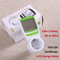 ac hour meter - Single Phase Energy Kilowatt Hour kWh Meter AC V HZ Germany Standard Energy Meter WATT Power Voltage Meter TUV GS